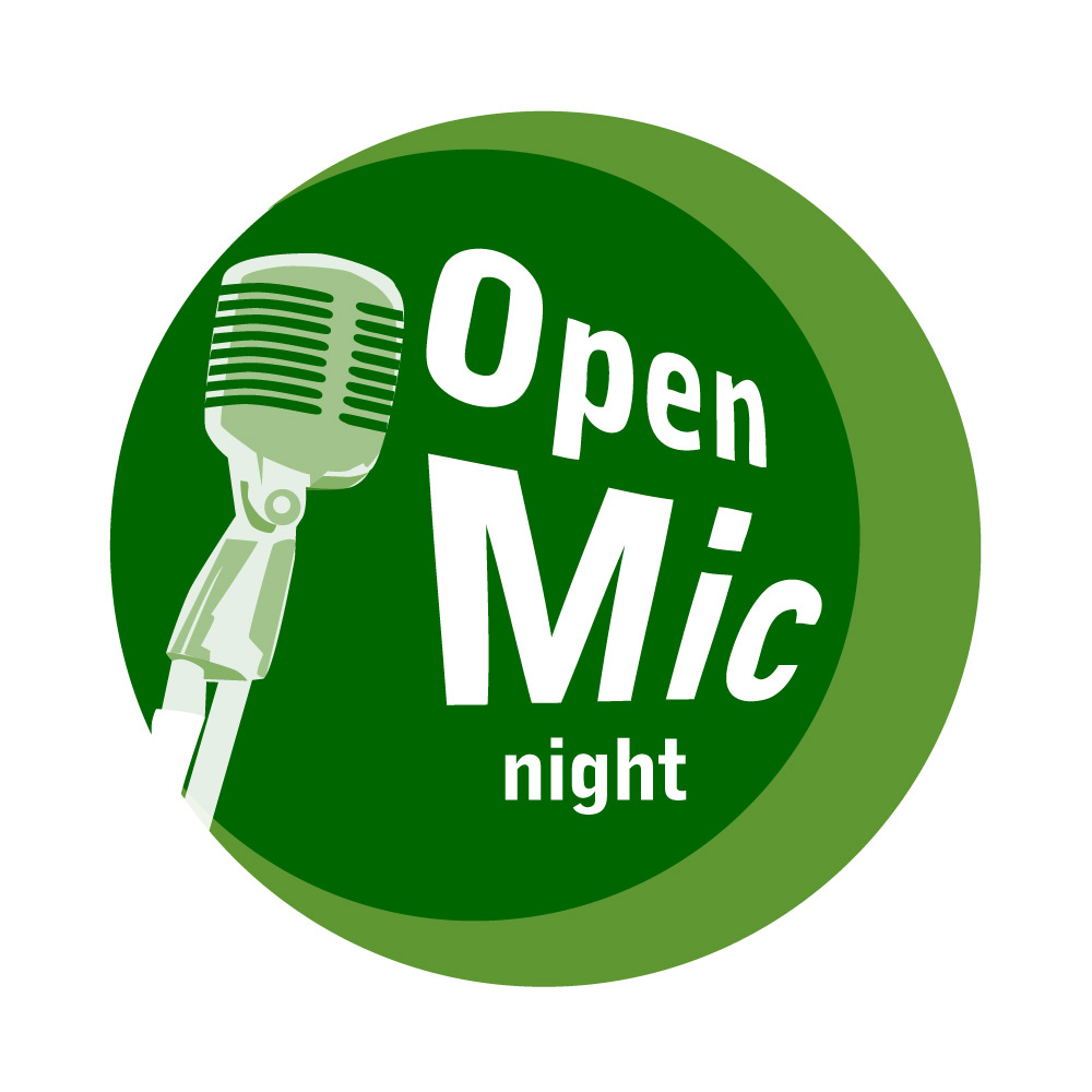 MOSAIC Community Land Trust's Open Mic Night Logo Design