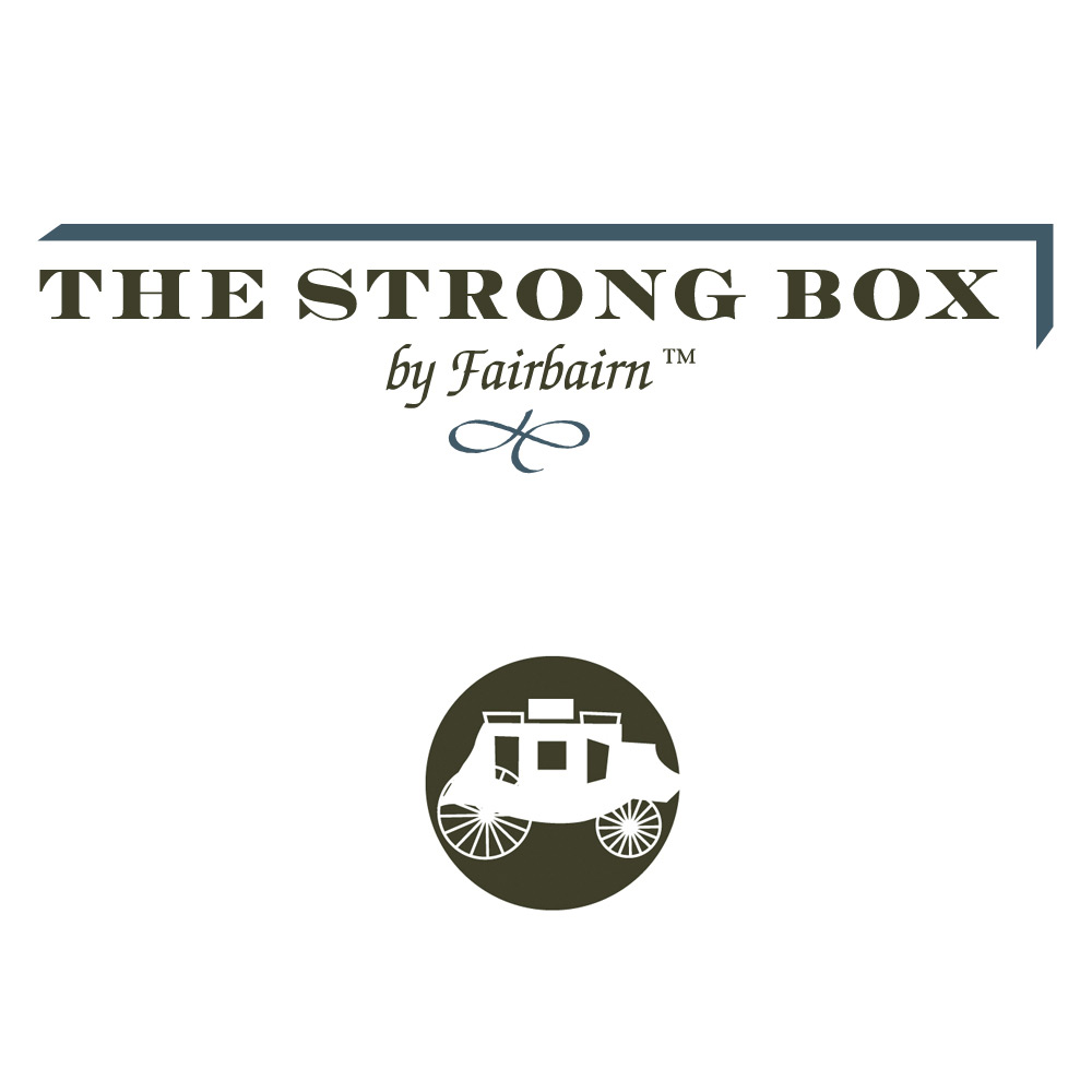 The Strong Box by Fairbairn Branding, Logo, Corporate Identity